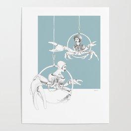 Weird & Wonderful: Crab Circus Poster