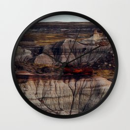 Petrified Forest Wall Clock