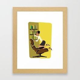 To the Left… Framed Art Print