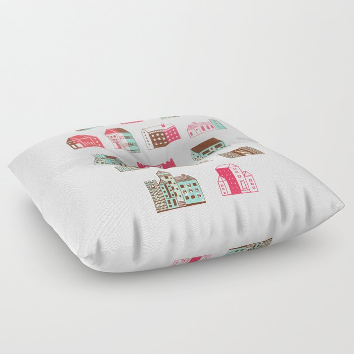 I Need A Place To Rent: Places To Rent Floor Pillow By Marceloromero
