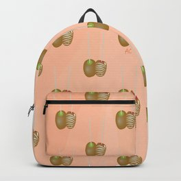 Two Caramel Apples Backpack