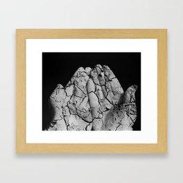 Disintegration Framed Art Print