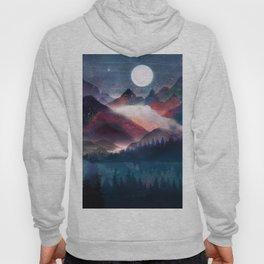 Mountain Lake Under the Stars Hoody