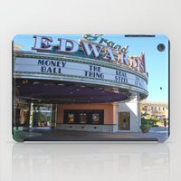 movies iPad Cases featuring Day at the movies by Debra Slonim Art & Design