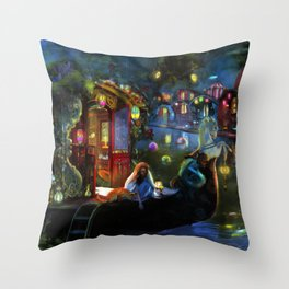 Wanderer's Cove Throw Pillow