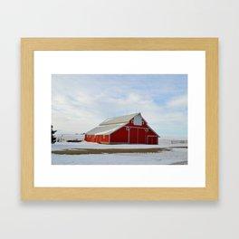 Plainfield Barn Framed Art Print