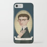 kafka iPhone & iPod Cases featuring Franz Kafka said... by Mrs Peggotty