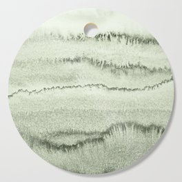 WITHIN THE TIDES - SAGE GREEN by MS  Cutting Board