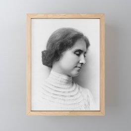 Helen Keller Framed Mini Art Print