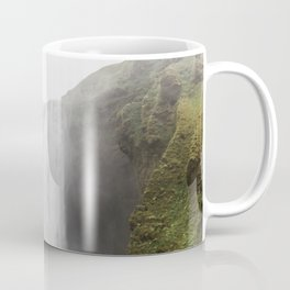 Skógafoss waterfall - lanscape photography Coffee Mug