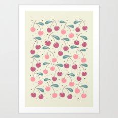 Cherry Delight Art Print