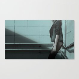 girl waiting for sex whore ass hot Canvas Print