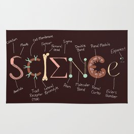 Science Rules Annotated Rug