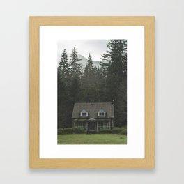 Storm Point Framed Art Print