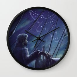 Cygnus Wall Clock
