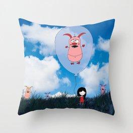 demon control #2 Throw Pillow