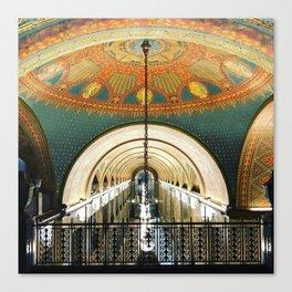 Art Deco Fisher Building Downtown Detroit Canvas Print