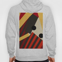 Abstract in Stripes and Dots Hoody