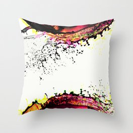 Top And Bottom Throw Pillow