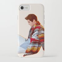 darren criss iPhone & iPod Cases featuring Darren for Hero by byebyesally