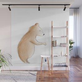 Bear with Yoyo Wall Mural