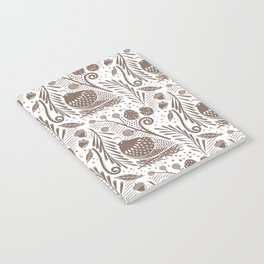 California Quail (Cocoa) Notebook