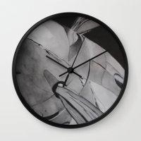 plane Wall Clocks featuring Plane by ann hsieh
