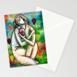 Nouveau at Noon Stationery Cards