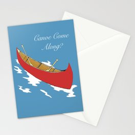 Canoe Come Along? Stationery Cards