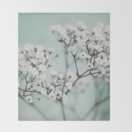 flowers VI Throw Blanket