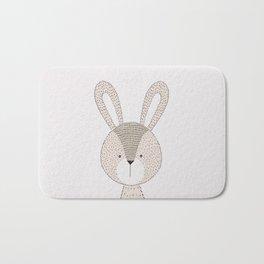 Rabbit Cute Woodland Animals Nursery Bath Mat