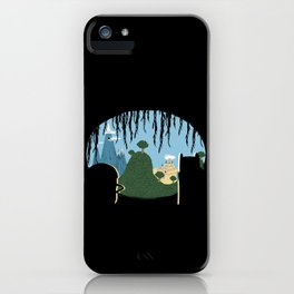 A View of Ooo iPhone Case
