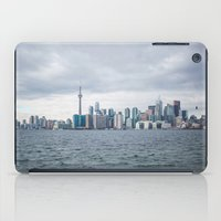 toronto iPad Cases featuring Toronto by L. Doan