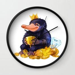 Naughty Niffler Wall Clock