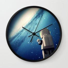 Neil in the galaxy Wall Clock
