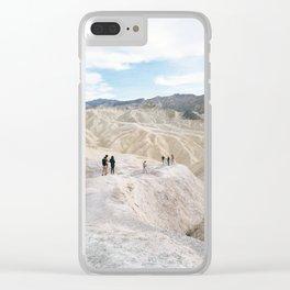 Terrestrial Beings Clear iPhone Case