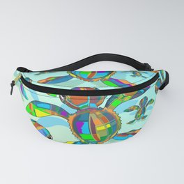 Baby Sea Turtle Fabric Toy Fanny Pack