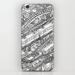 The Town of Train 3 iPhone Skin