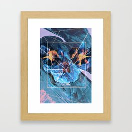 Geo Death Framed Art Print