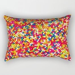 Round Sprinkles Rectangular Pillow