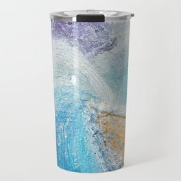 The Ark - Faith through turbulent times - Hold on perfect storm - artwork of surrender and hope Travel Mug