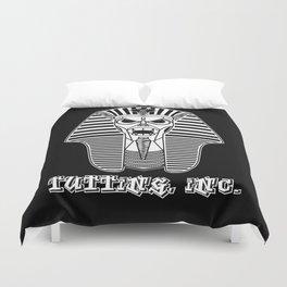 Tutting, Inc. - Pharaohtron Duvet Cover