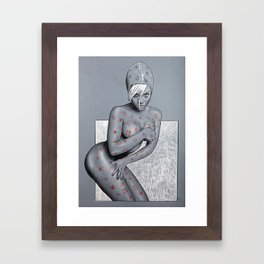 Nude girl 4 Framed Art Print
