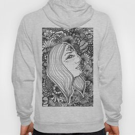 Know It All Black and White Hoody