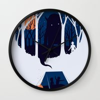 scary Wall Clocks featuring Scary story by SpazioC