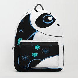 Pandacorn in the Darkness and the Snow Backpack