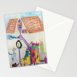 Fire Hall Practice  Stationery Cards