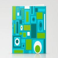 brooklyn Stationery Cards featuring Brooklyn by Crash Pad Designs