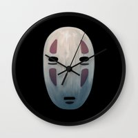 spirited away Wall Clocks featuring Spirited by KoryDemers