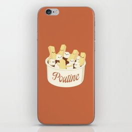 Poutine iPhone Skin